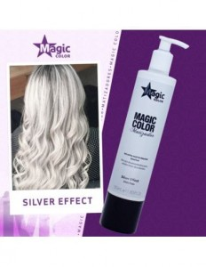 Magic Color 3D Maska Tonująca Silver 300 ml